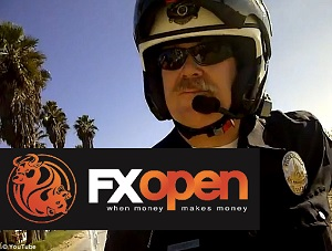 FXOpen and Policeman gives ticket